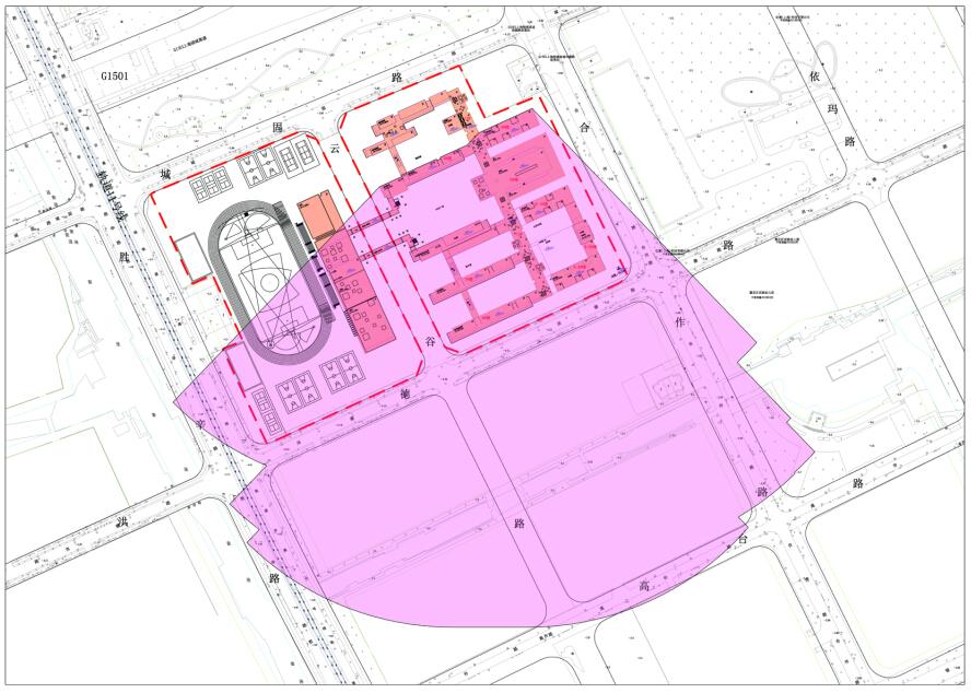 主体建筑范围图
