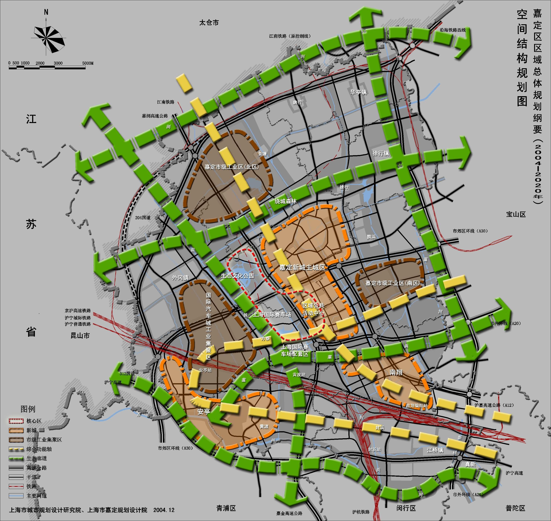 空间结构规划图