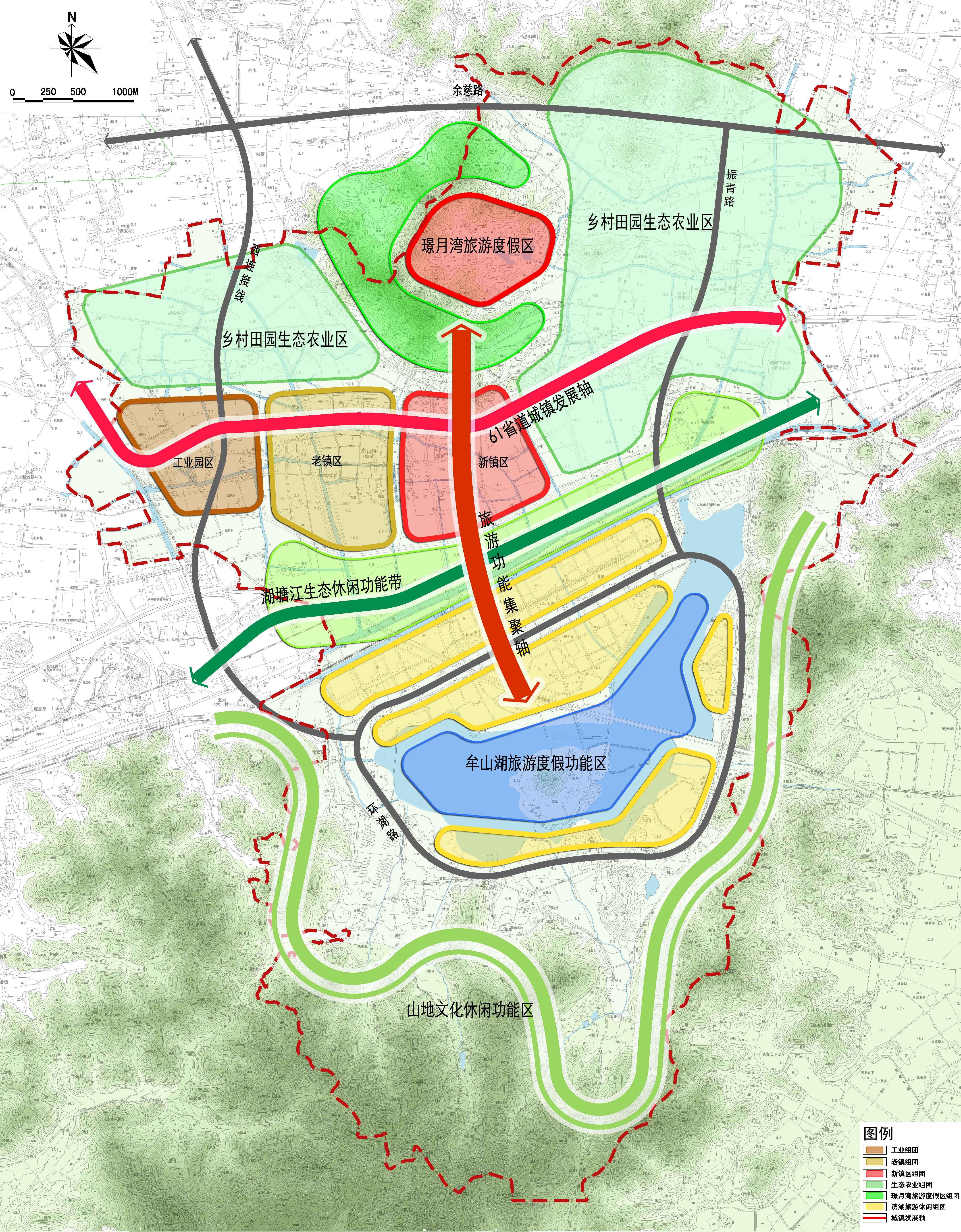 镇域规划结构图