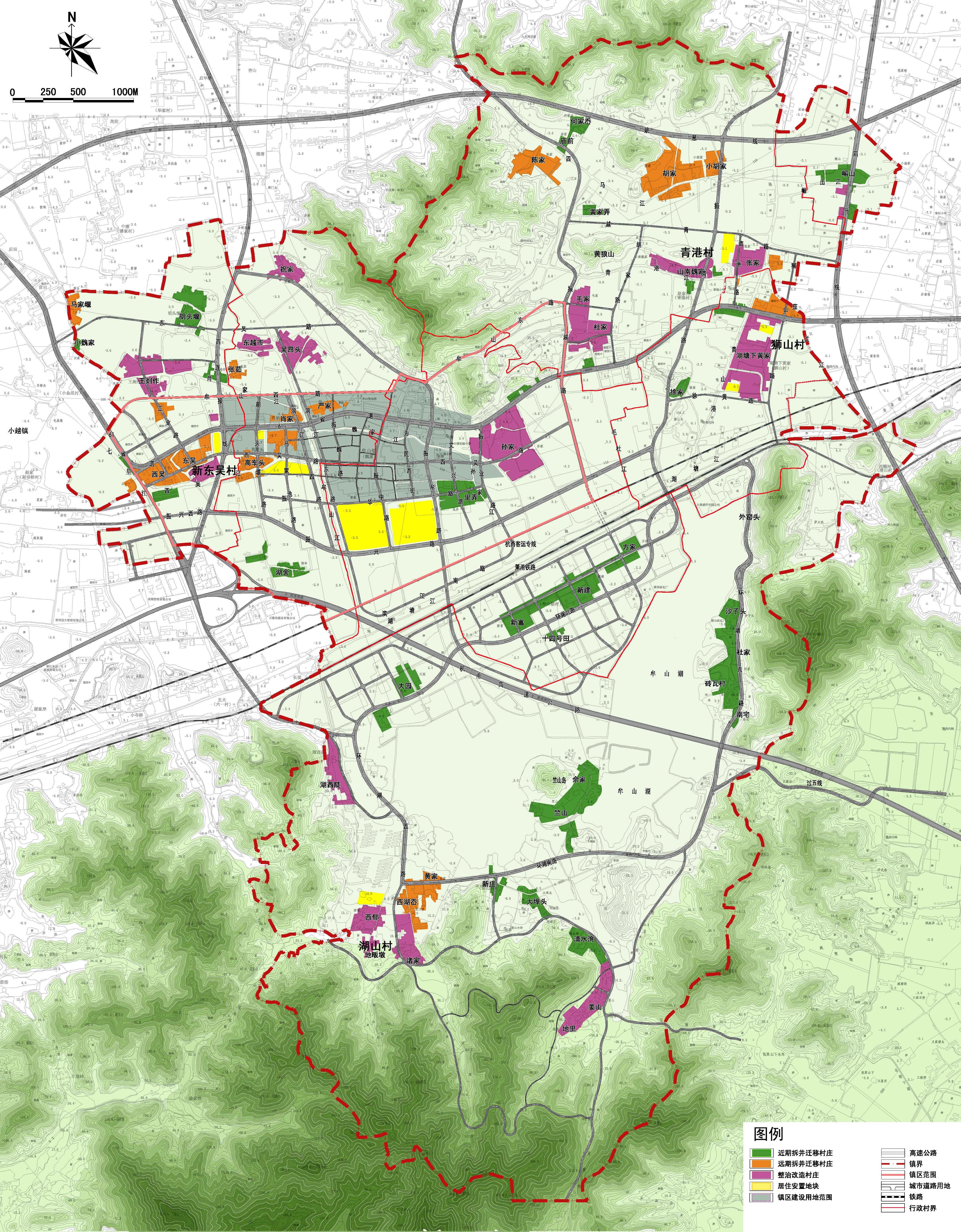 村镇布局规划图