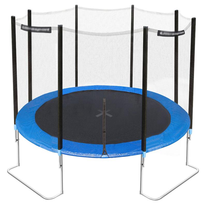 L leg trampoline
