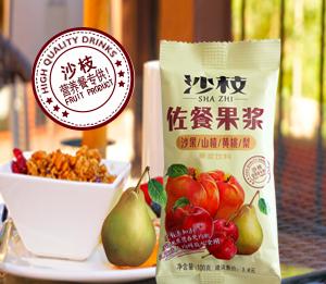 1oo克佐餐果浆(沙果/山楂/黄桃/梨)