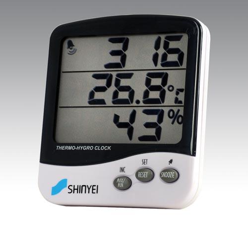 日本神荣电子温湿度表