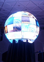 Sphere ball movie screen