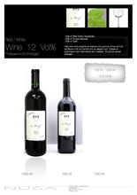 Red wine de Broff 12% Vol%