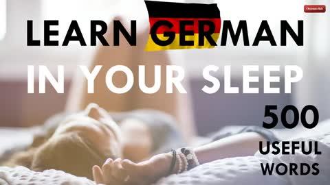 Deutsch lernen im Schlaf mit klassischer Musik  Learn German