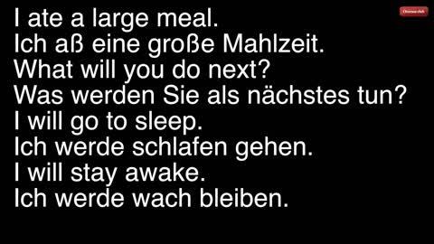 learn german conversation english german audio