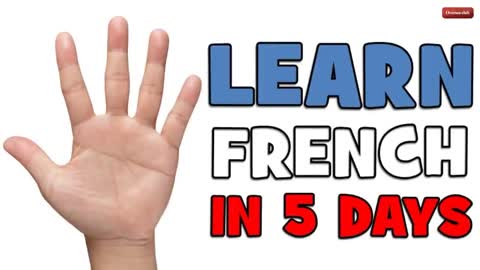 LEARN FRENCH IN 5 DAYS  DAY 1