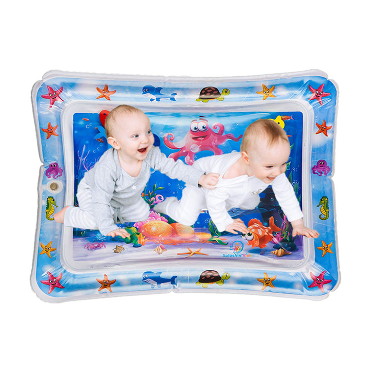 Picture of CARYWON Baby Water Mat Inflatable Baby Play Mat Activity Center for Infant Baby Toys 0 to 24 Months, Baby Gifts for Newborn Boys Girls