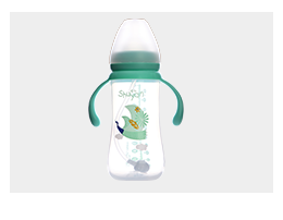 曙雁宽口PP奶瓶