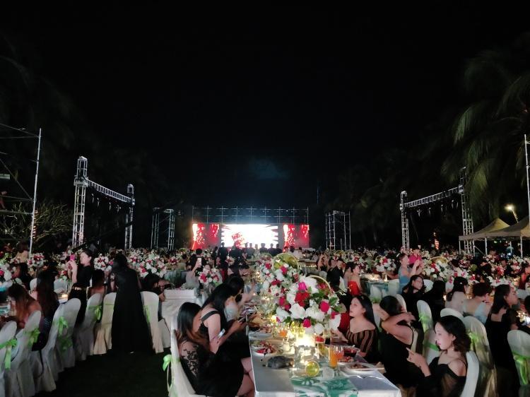 Seegreen三亞灣國光豪生晚宴