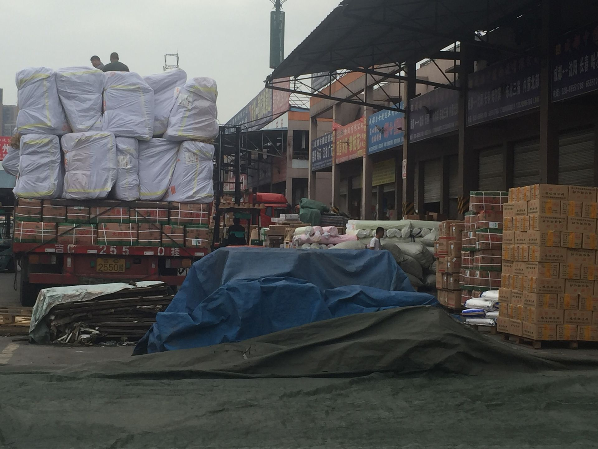 成都到广西物流专线运输合作案例成都锦华行商贸有限公司