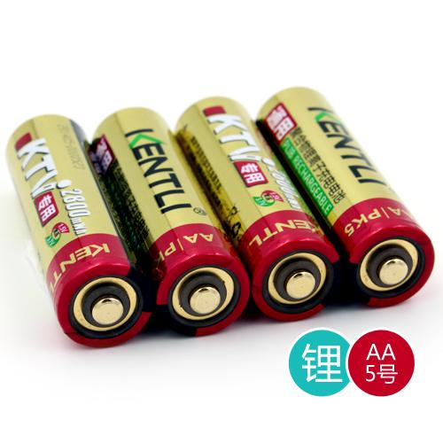 AA 5号 PK5充电锂电池