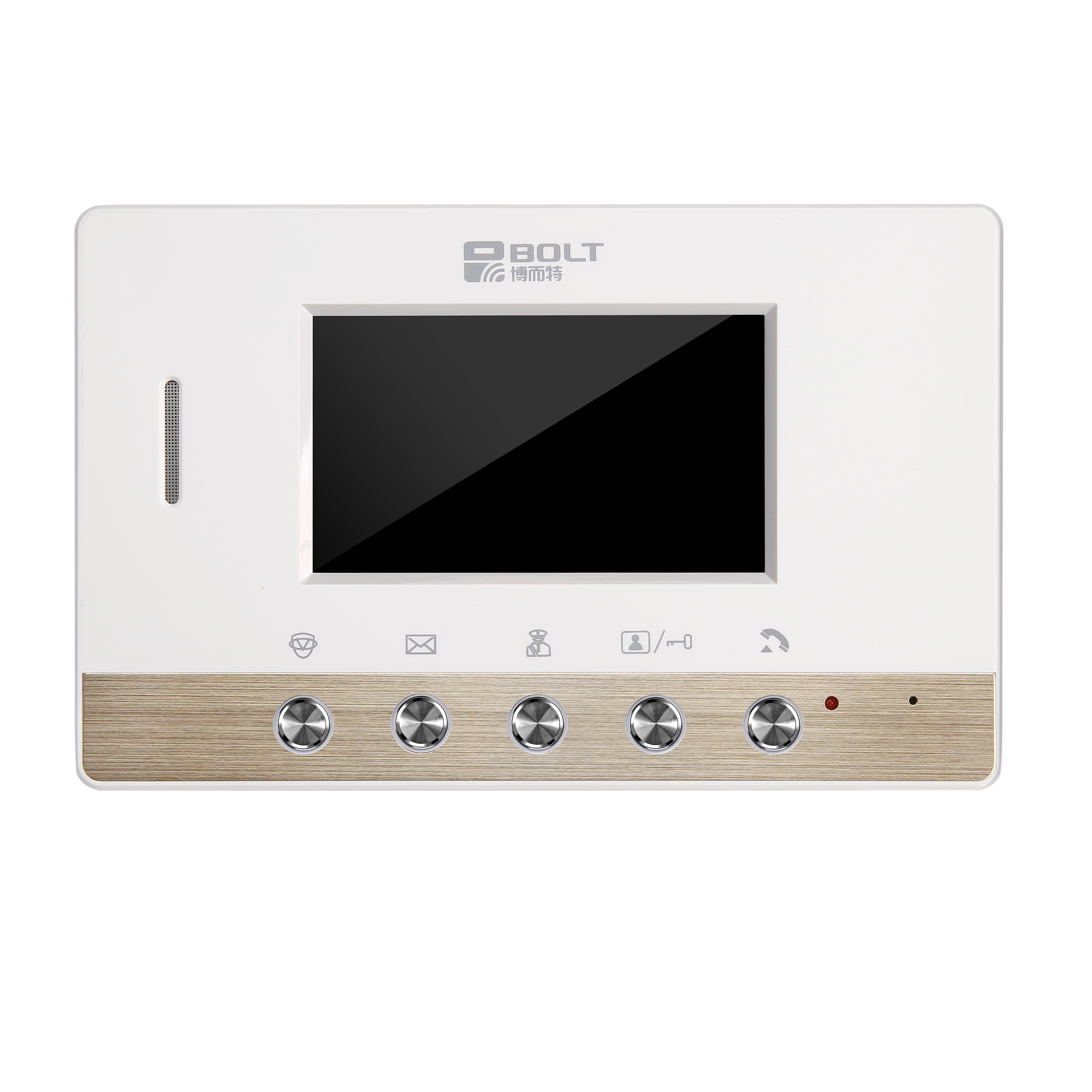 C100-F11 4.3寸半数字室内机