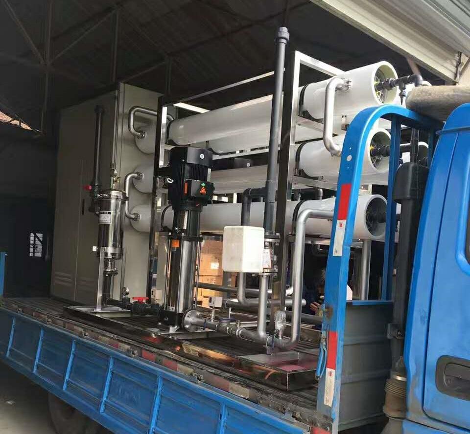 某150T/D印染废水MBR+RO工艺项目