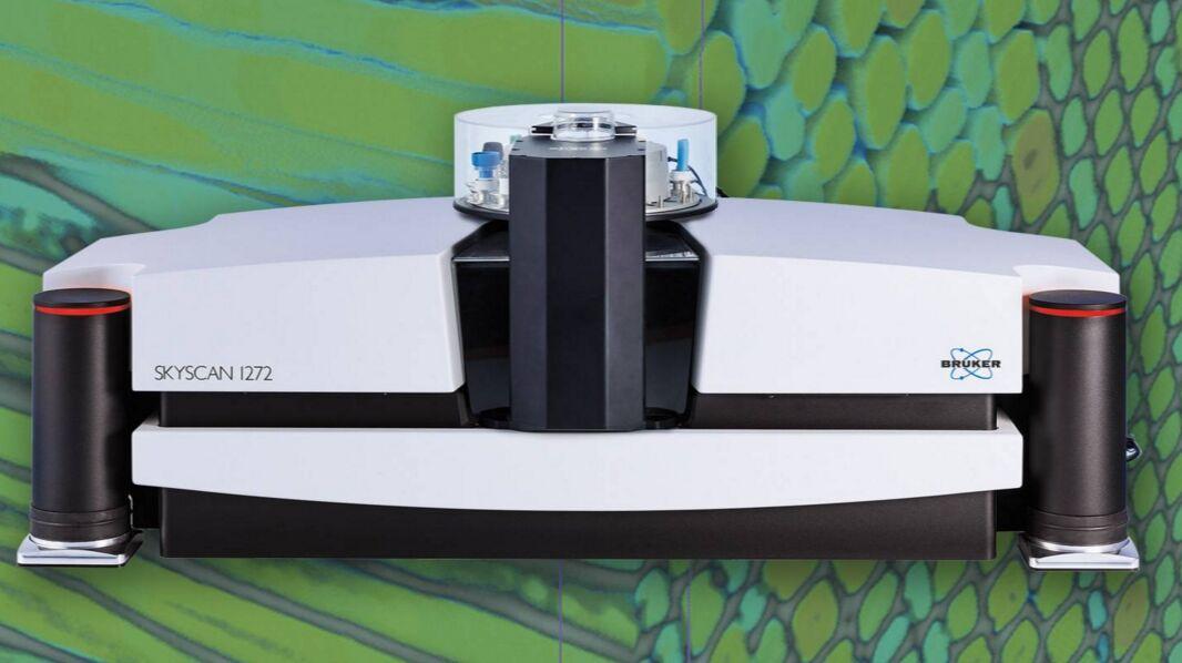 高分辨率微焦点CT SKYSCAN 1272
