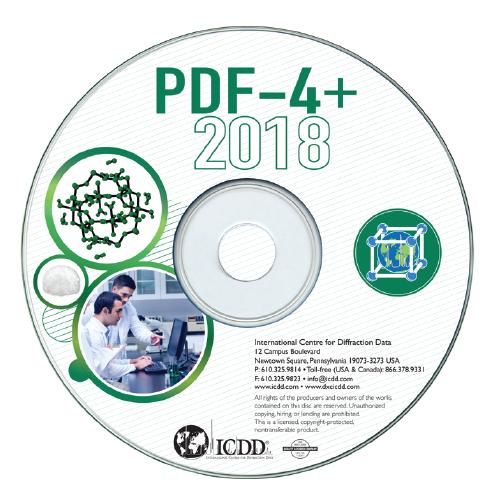 PDF-4+2019国际衍射数据库卡片