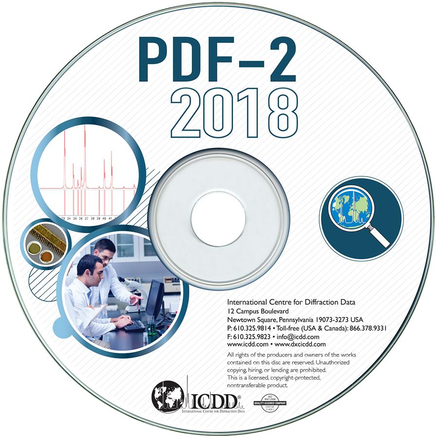 PDF-2 2019衍射数据库卡片