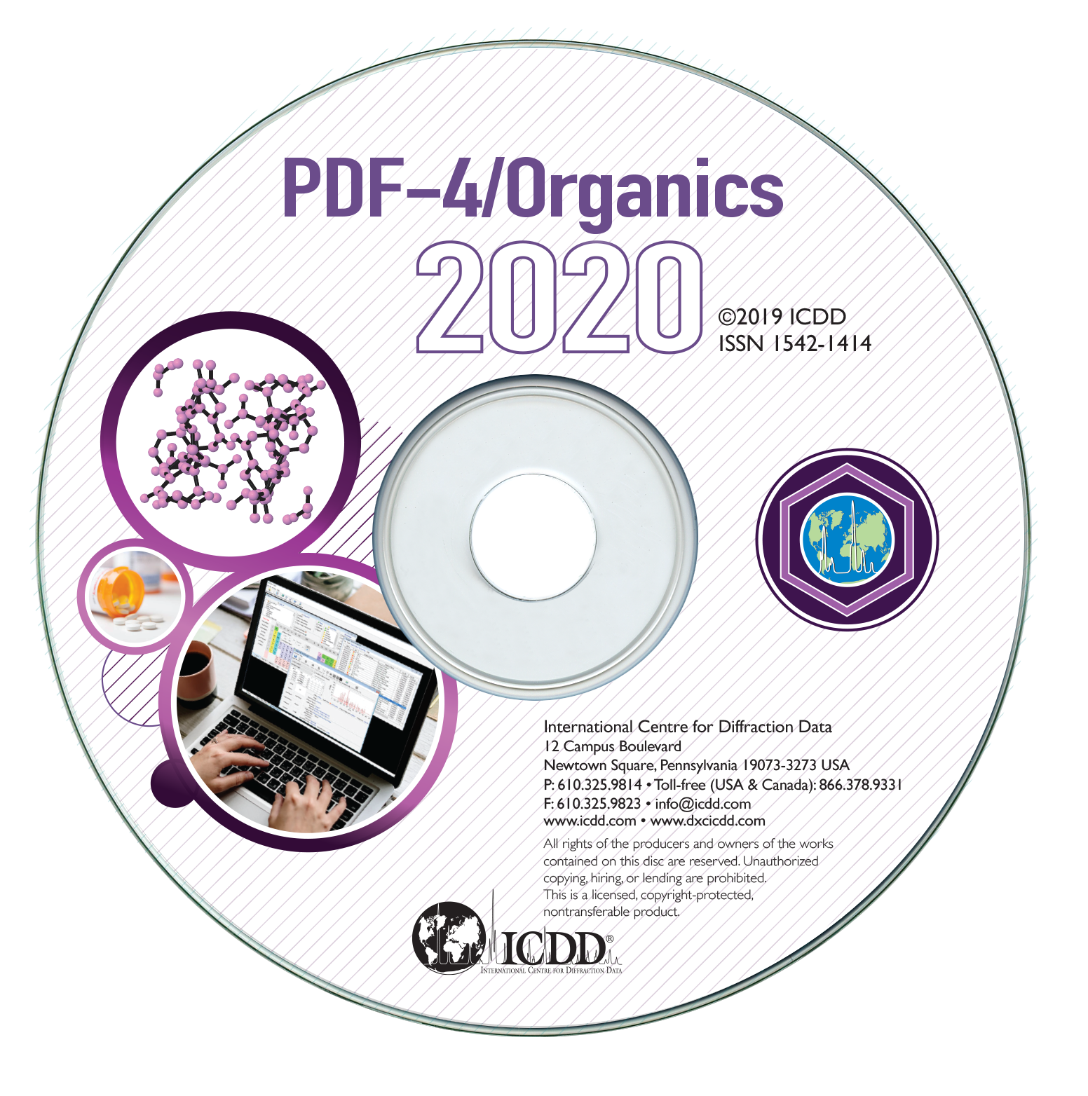 PDF-4 2020有机物卡片数据库卡片