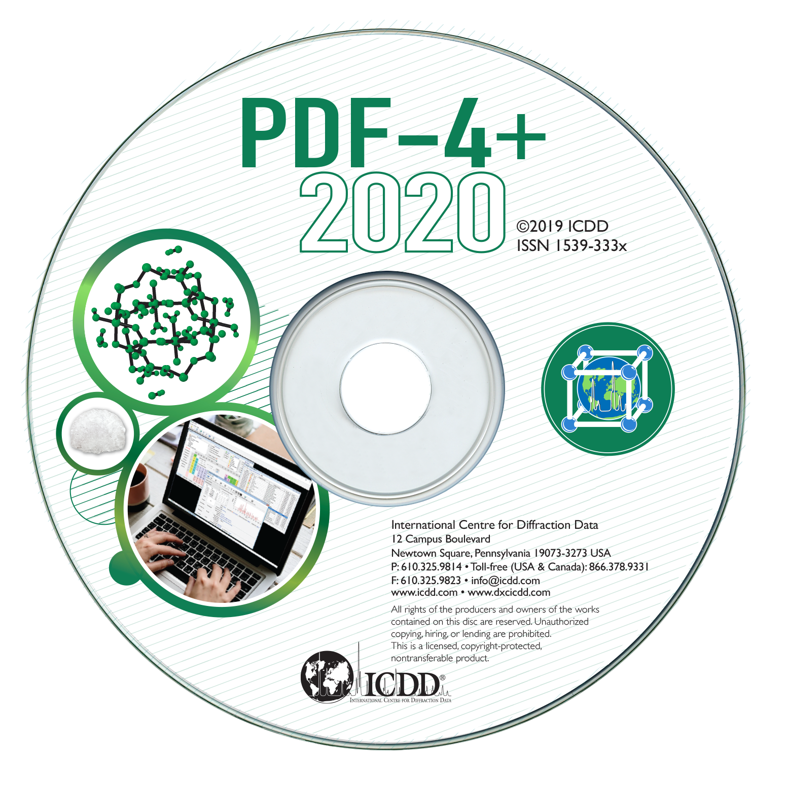 PDF-4+2020国际衍射数据库卡片