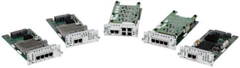 适用于思科 ISR4000系列的NIM模拟语音网络接口模块