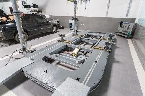豪车专用车身矫正设备