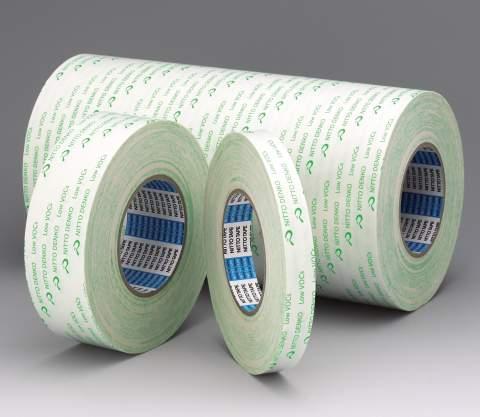日东EW-514,无溶剂低VOC泡沫基材双面胶带,弯曲表面适用