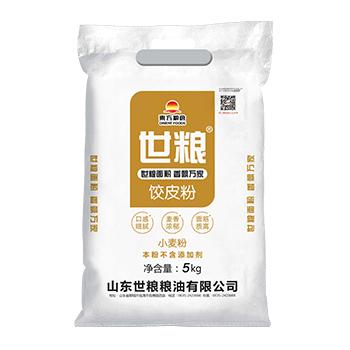 世粮饺皮粉5kg