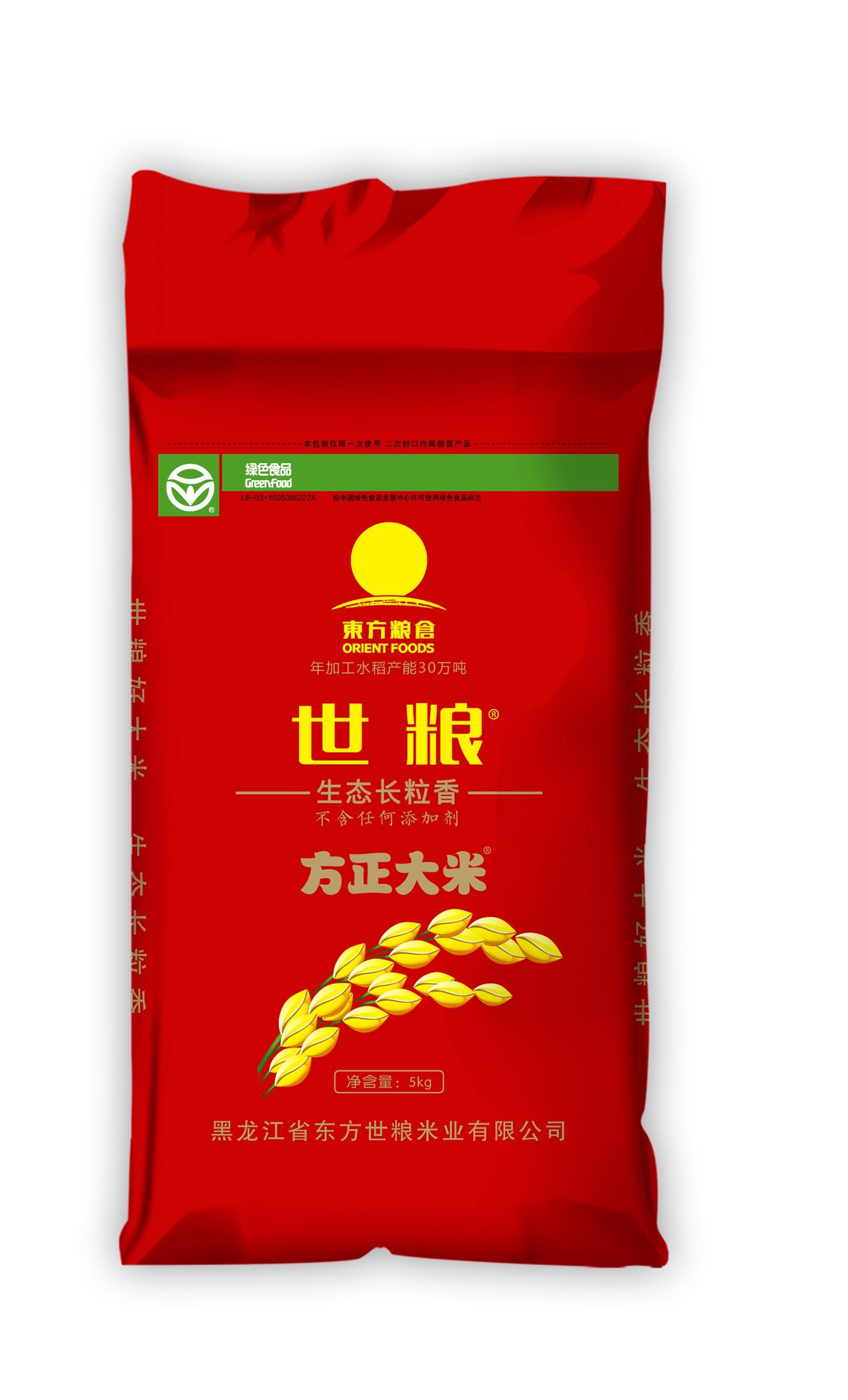 世粮生态长粒香5kg
