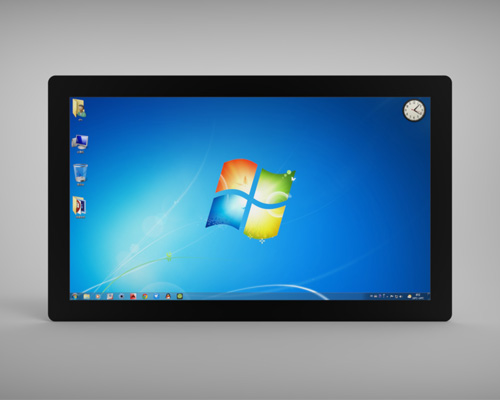 Picture of 21.5 inch full lamination LCD Capacitive Touch Screen