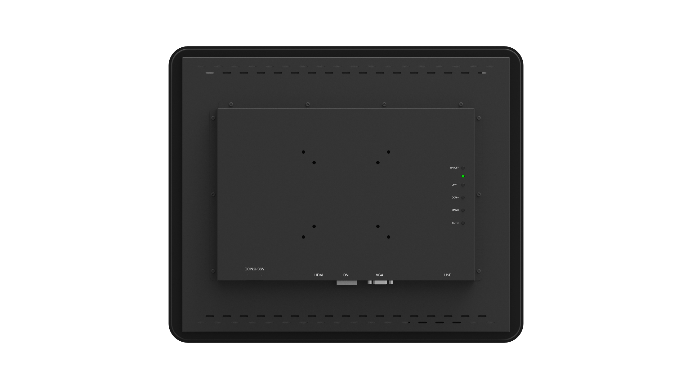 Picture of 17 inch open frame industrial touch monitor