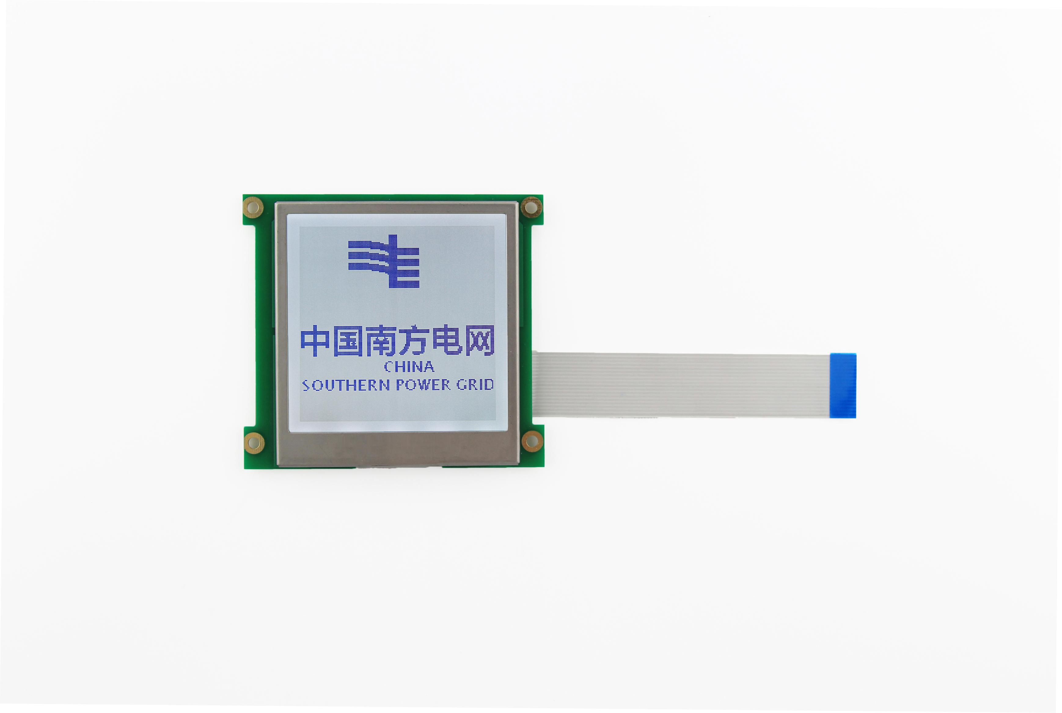 HTM160160E--智能电力产品专用的160x160图形点阵模组