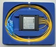 1310/1490/1550nm 1*8模块单模三窗光纤分路器(Tri-Windows Broadband Optic Fiber Splitter)