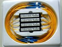 1310/1490/1550nm 1*2小模块单模三窗光纤分路器(Tri-Windows Broadband Optic Fiber Splitter)