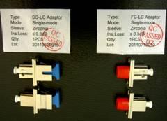 LC型转接法兰(Hybrid LC Type Optic Adaptor Converter)