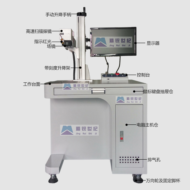 50W工业专用激光打标机