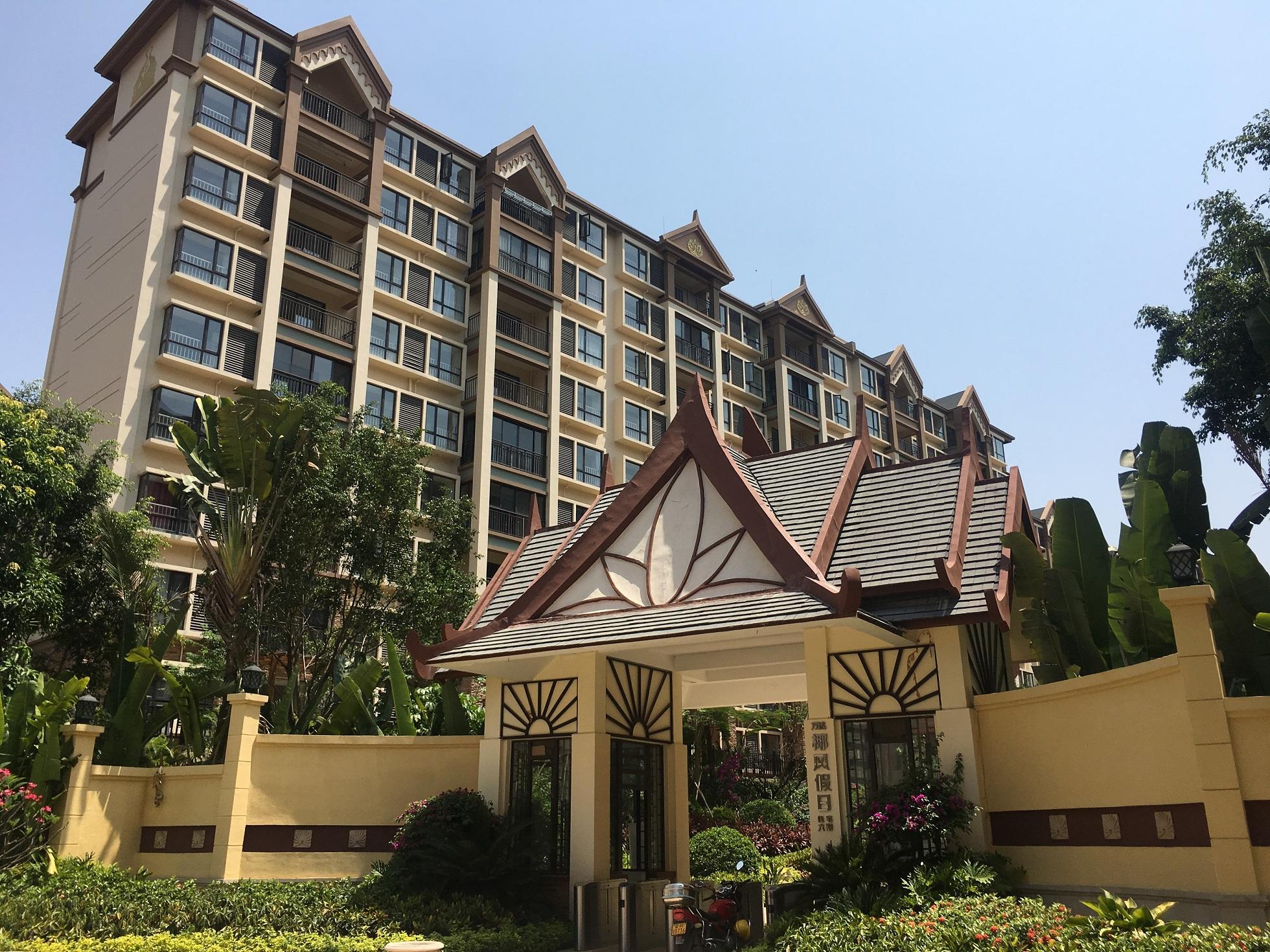 云南西双版纳万达旅游度假区EPS线条、GRC线条工程