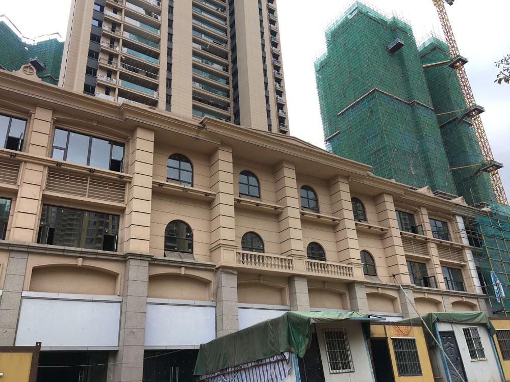 云南昆明恒大名都A3地块高层及商业楼GRC线条工程