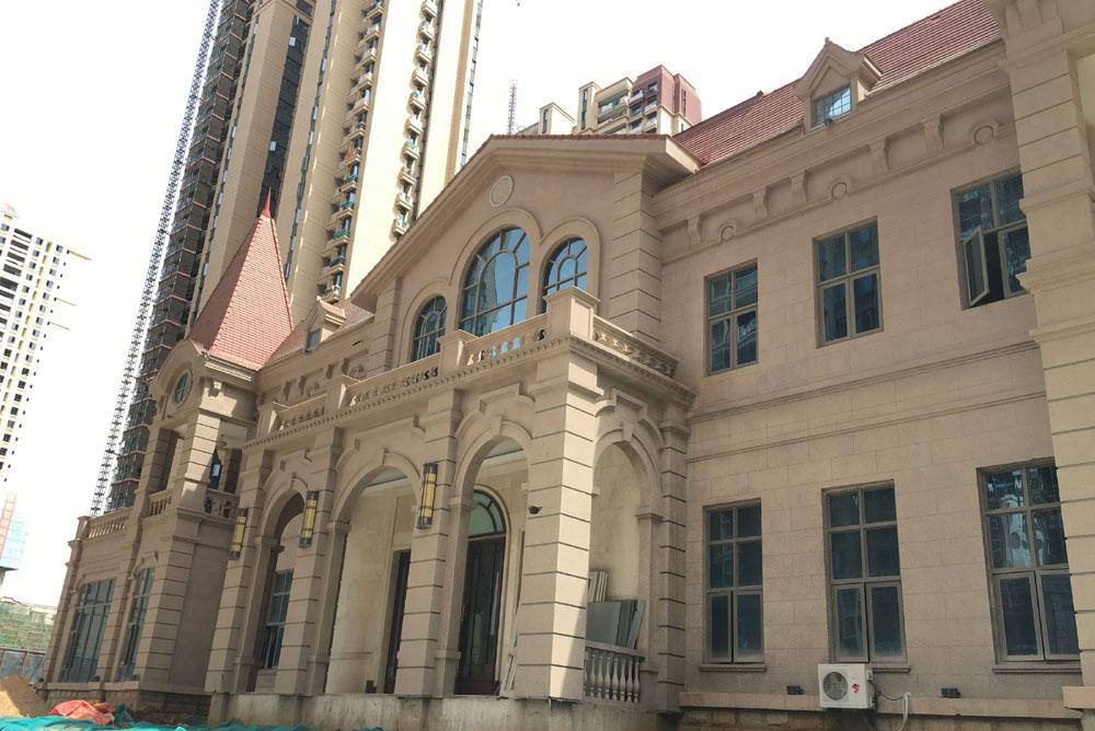 云南昆明恒大名都综合楼项目GRC线条工程