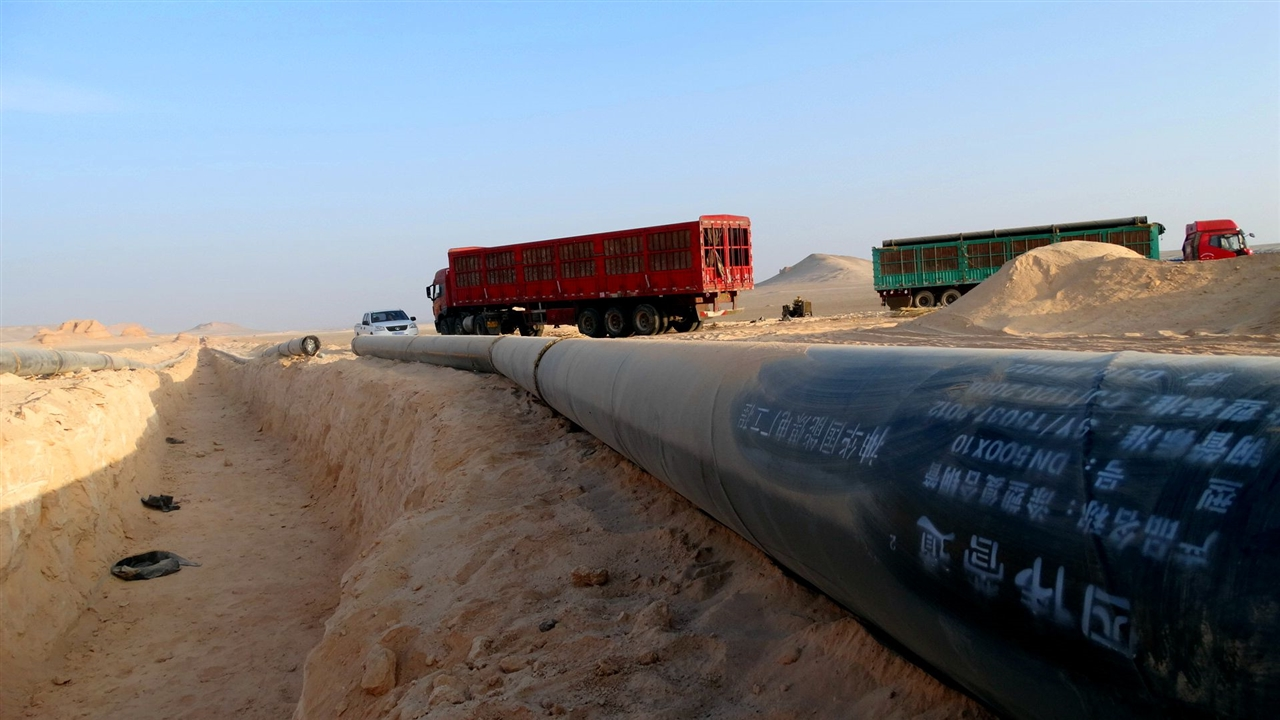 神华国网哈密电厂供水工程