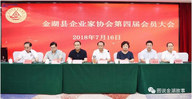 金湖县企业家协会第四届成功换届