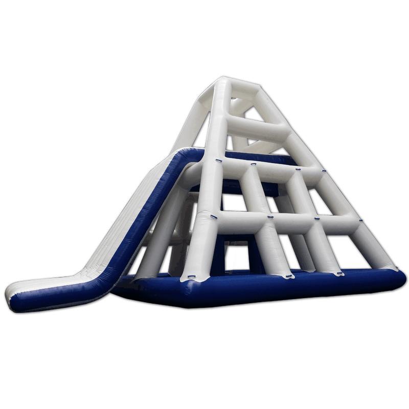 Pyramid inflatable slide