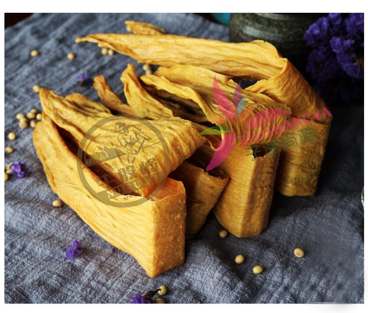 手工腐竹0添加純手工 福建特產豆腐皮腐竹農家天然豆皮幹貨