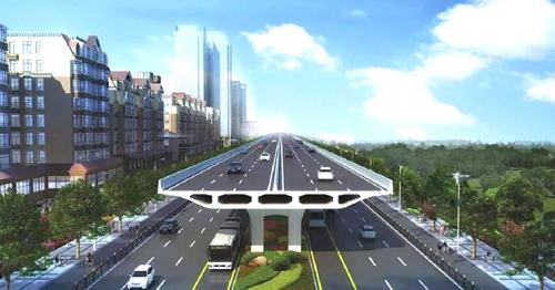济南北园大街快速路项目