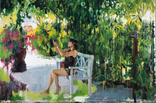 日常影像-马尔代夫Daily Images -Maldives 200×300cm 布面油画 Oil on Canvas 2013