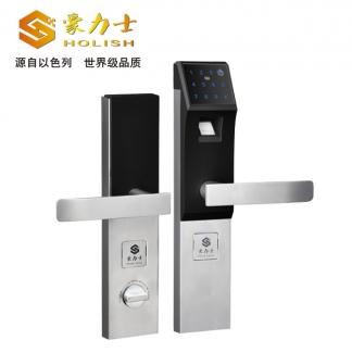 豪力士D3210F-时尚银防盗智能锁