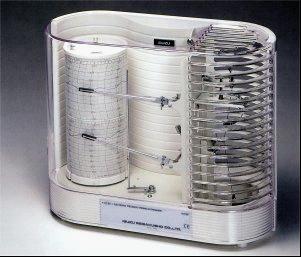 日本ISUZU精密温湿度记录仪TH27R
