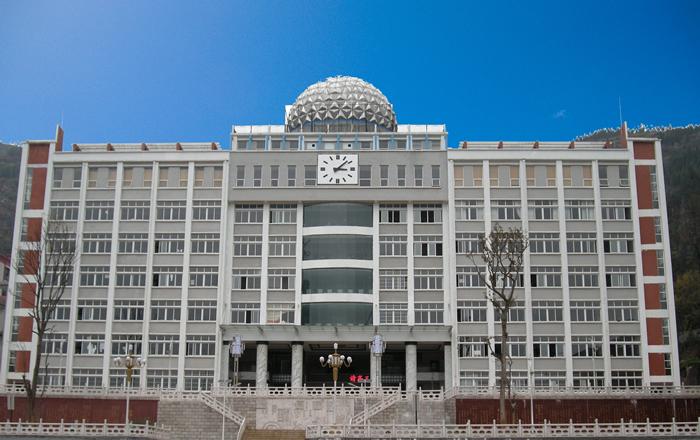 贵州盘县二中塔钟工程