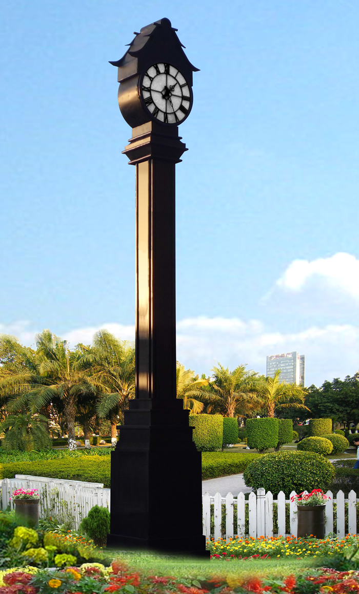 哈尔滨金昌国际广场景观钟工程