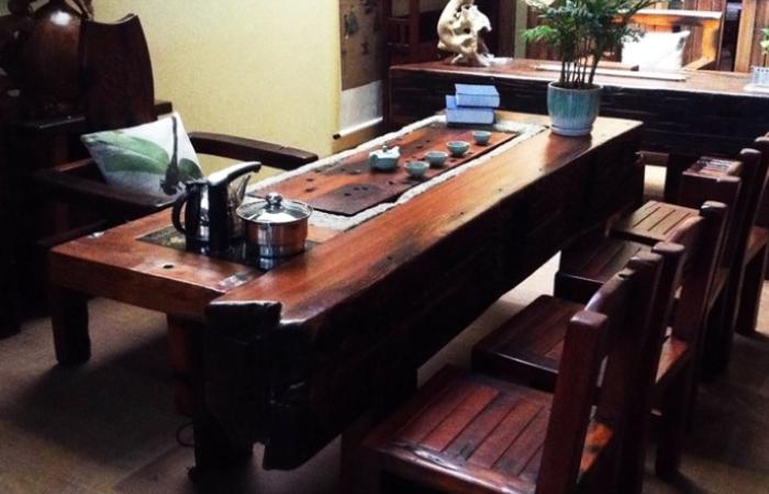 2.2米船木茶台